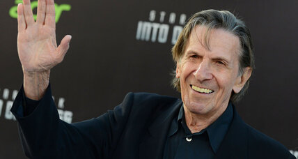 As 'Spock,' Leonard Nimoy boldly went into space on TV's 'Star Trek'