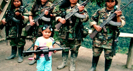 Ex-child soldiers in Colombia face their tormentors (+video)