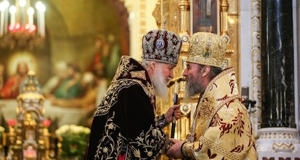 Ukraine's war of the pews