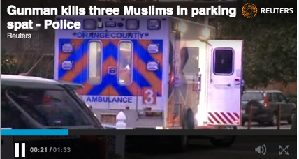 Was parking dispute behind Chapel Hill shooting of three Muslims?