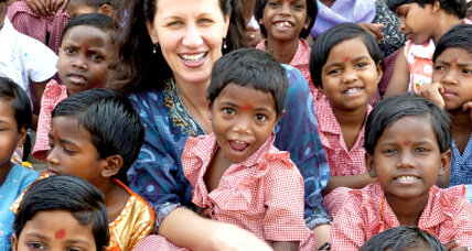 Caroline Boudreaux is a passionate, effective advocate for India's orphans
