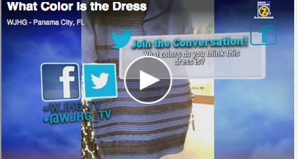 Black and blue or gold and white? How #thedress broke the Internet. (+video)