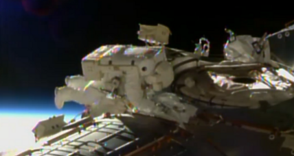 Astronauts as cable guys: Biggest wiring job in space station history