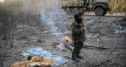 Ukraine forces and EU diplomacy take heavy blow as rebels seize key town