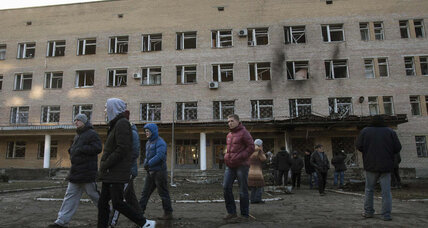 At least five dead after shelling in eastern Ukraine