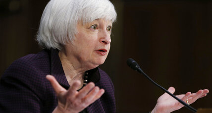 Fed chair Yellen continues to preach patience about interest rates