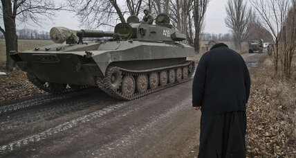 Ukraine to begin pulling back heavy weapons in east