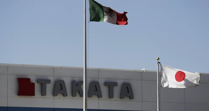 Takata considers bankruptcy to ease financial strain from massive recall