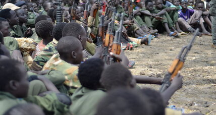 In South Sudan, a renewed bid to pull child soldiers out of conflict