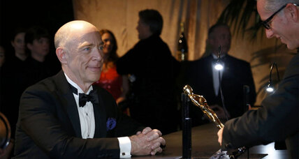 Academy Awards: J.K. Simmons shares his thoughts on his 'Whiplash' character and more backstage stories