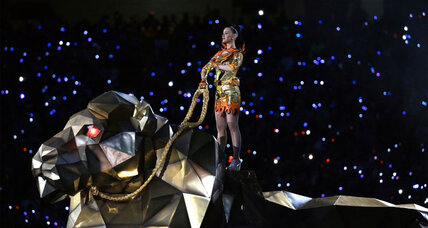 Katy Perry: Here's where that Super Bowl lion came from
