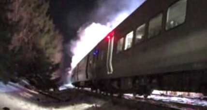 At least six dead after N.Y. commuter train hits SUV at crossing