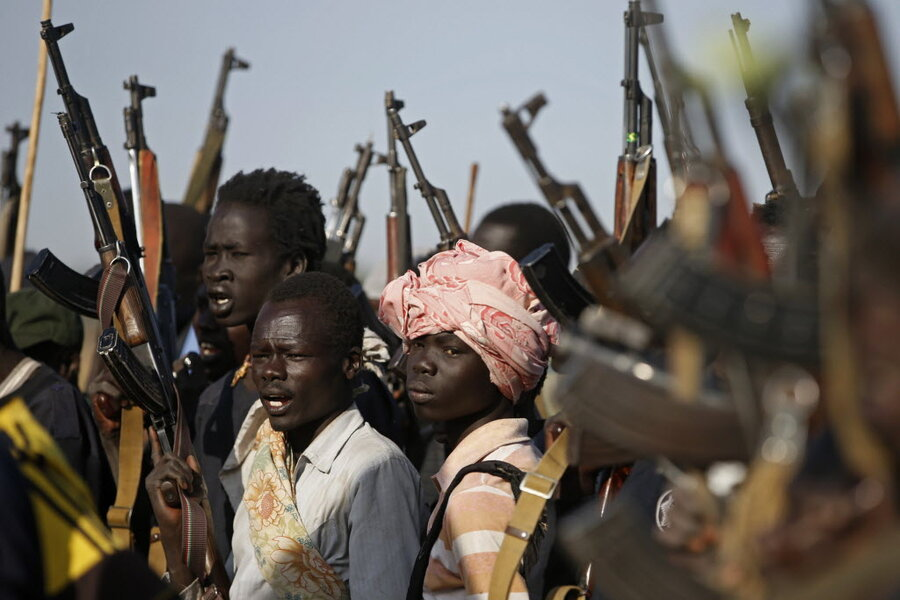 South Sudan abductions set back efforts to end use of child soldiers