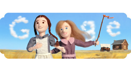 Laura Ingalls Wilder: A Google Doodle of good yarn