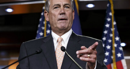 Can House conservatives remove Boehner as Speaker? Not likely.