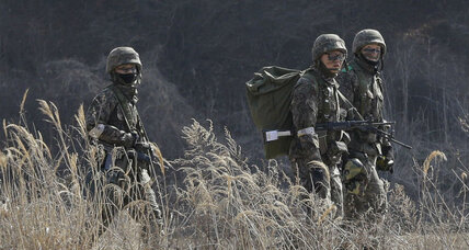 Seoul: North Korea fires missiles into the sea as US-S. Korean military drills begin