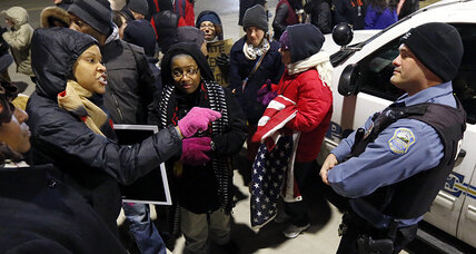 Ferguson report taps into debate: Should police enforce law or protect people? (+video)
