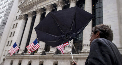 Be prepared for stormy financial weather