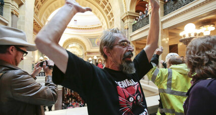 Wisconsin Assembly passes 'right to work': A blow to income equality nationwide?