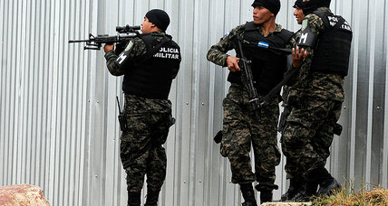 What ex-general wants to teach Honduras police