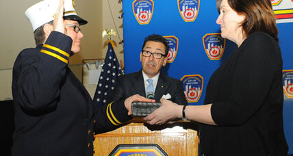 FDNY's first female chaplain went from World Trade Center to pulpit