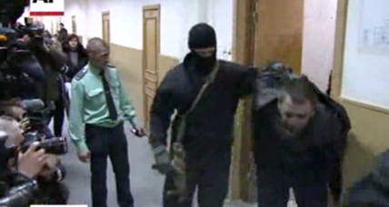 5 Nemtsov killing suspects arraigned; 1 is said to admit guilt