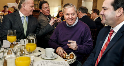 In Sen. Lindsey Graham e-mail boycott, a refusal to bow to 'every 15-second crisis' (+video)