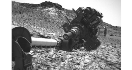 When will Mars rover Curiosity be able to move its arm again?