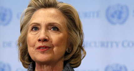 Hillary Clinton: Private e-mail was 'for convenience'