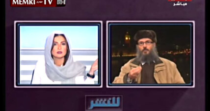 An Islamic scholar tells a female Lebanese TV host to 'shut up.' What happens next?