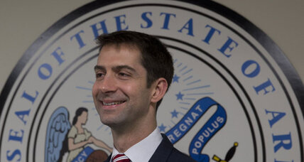 Iran letter lands author Tom Cotton in hot water. Is he next 'Hanoi Jane'? (+video)