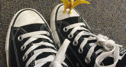 #InMyShoes: How a girl's quest for dinosaur shoes is leaving a big footprint on Twitter