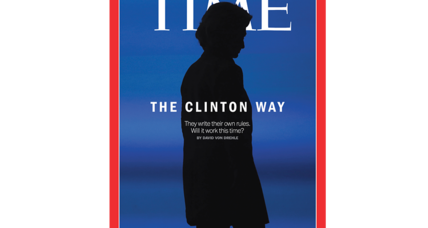 Did Time magazine give Hillary horns?