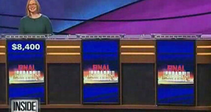 Why was this Jeopardy contestant the last one standing?