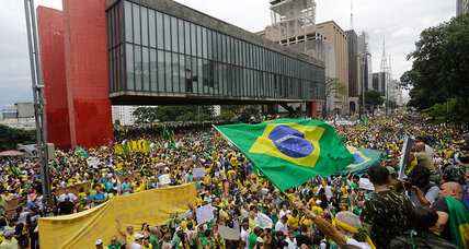Brazil protests: Do calls for Rousseff impeachment signal progress?