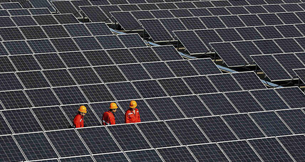 Global emissions pause comes amid China's clean energy push