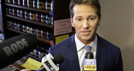 Aaron Schock resignation: Did 'Downton Abbey' tastes do him in? (+video)