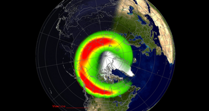 On St. Patrick's Day, a dancing green aurora?