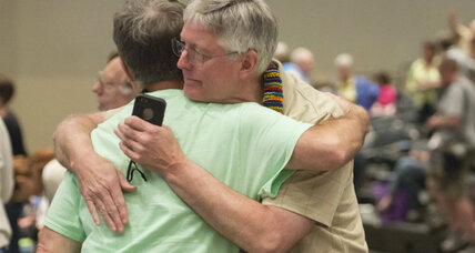 Gay marriage: Is the Presbyterian Church playing catch-up – or leading? (+video)