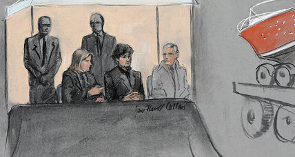 Boston Marathon trial: remains of pressure-cooker bomb, laptop files shown to jury