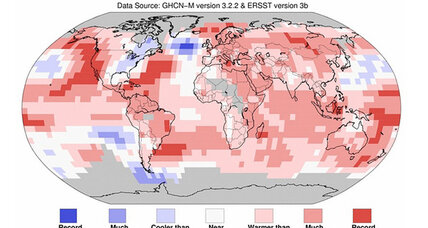 We just had the warmest winter on record, say scientists