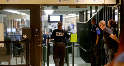 Man wielding machete at New Orleans airport. Should TSA agents carry guns?