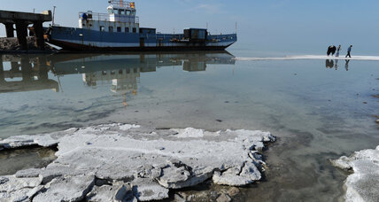 In thirsty Iran, a hunt for solutions to a shrinking salt lake