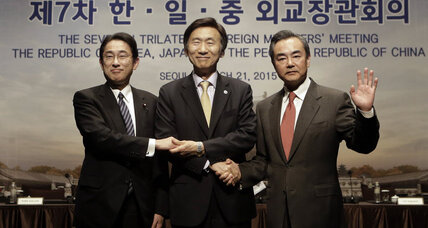 South Korea, Japan, China agree to summit