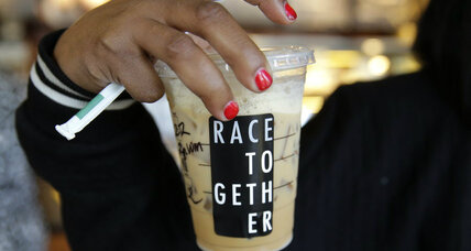 Why Starbucks is pulling back from 'Race Together' campaign (+video)