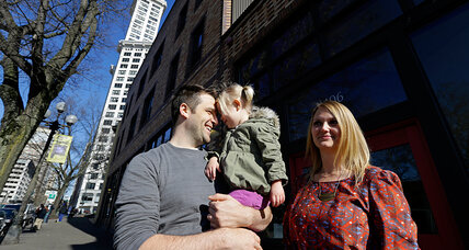 Why more parents are seeking to raise their children in the city
