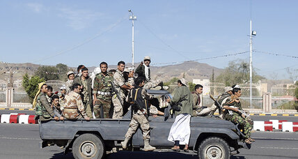 Yemen crisis: Houthi fighters advance toward president's stronghold
