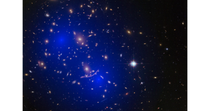 What is dark matter made of? Galaxy cluster collisions offer clues.