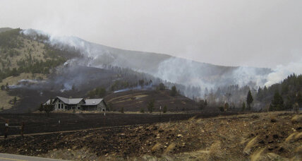Crews battle Montana wildfire, ski lodge evacuation lifted