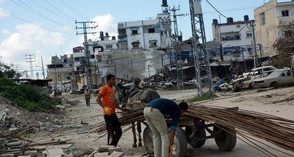 Gaza in ruins: why money, cement, and leadership are scarce